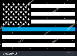 American Flag Morale Patch Usa Flag Thin Blue Line Morale Stock Vector 743325628 Shutterstock