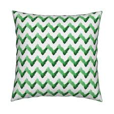 chevron watercolor ikat home decor tribal kelly green grass 34 1024 1024 l