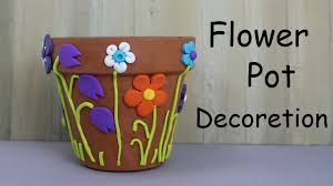 Decorations At Home by Articles With Flower Pot Decoration With Waste Material Tag