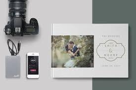 photo album wedding wedding album template brochure templates creative market