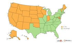Dr Map The Most Popular Talk Show Host In Your State U2014 2017 Map