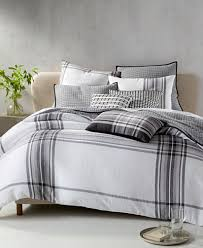 Macy S Bed And Bath Hotel Collection Linen Plaid Bedding Collection Created For