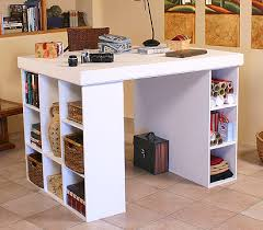 Craft Desk With Storage Seemly Storage Ikea Hackers Ikea Hackers With Storage For Quilters
