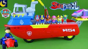 paw patrol toys sea patroller boat with sea patrol ryder atv