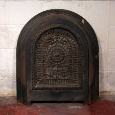 antique cast iron fireplace cover home design inspirations