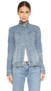 Light Jean Jacket Helmut Lang Bleach Denim Jacket Light Blue In Blue Lyst