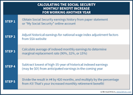 how continuing to work can increase social security benefits