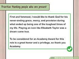 3 ways to write acknowledgements wikihow