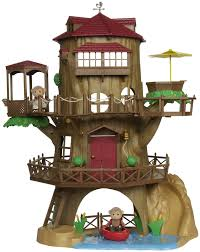 calico critters country tree house free shipping all the
