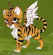 tiger with wings images