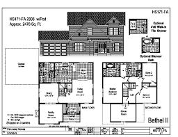 pennwest 2 story modular bethel ii hs171fa find a home