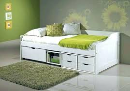 White Daybed With Storage Daybed With Storage Drawers Image Of Size Day Bed Storage