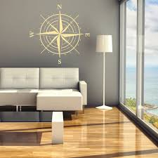 wood compass wall compass wall vinyl decal 24 x 24 id29 by fabdecals on etsy