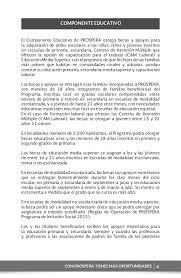 reglas de operacion prospera 2016 cuadernillo prospera basica