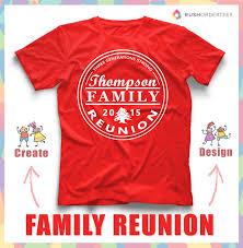 family reunion t shirt design idea s create a reunion shirt for