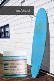 american paint company clay chalk mineral base paint surfboard