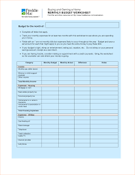 Household Budget Spreadsheet Template 6 Household Budget Templates Outline Templates