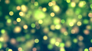 gold and green abstract lights bokeh background moving gloss