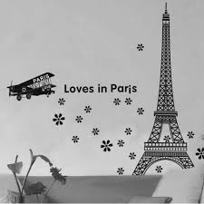 popular stencil quote buy cheap stencil quote lots from china 60 90cm love in paris quote wall sticker eiffel tower mural wallpaper poster vintage stencils