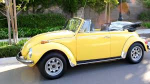 yellow volkswagen convertible 1972 vw super beetle convertible youtube