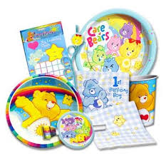 care bears free printable birthday party invitations birthday