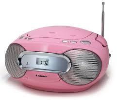 cd player für kinderzimmer kinder mädchen cd radio player kinder boombox rosa musiksystem mp3