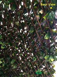 artificial laurel trellis expandable