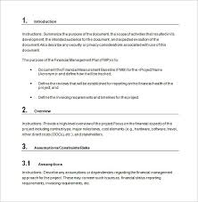 Financial Planning Templates Excel Free Financial Plan Templates 12 Free Word Excel Pdf Documents