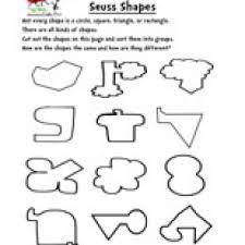 Havefunteaching Com Math Worksheets Dr Seuss Shapes Worksheet Teaching