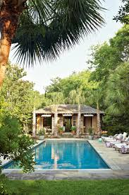 home plans with a courtyard and swimming pool in the center sparkling pools southern living