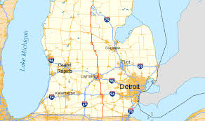 Michigan State Campus Map by U S Route 127 In Michigan Wikipedia