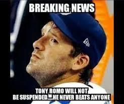 Funny Tony Romo Memes - good guy tony romo imgur
