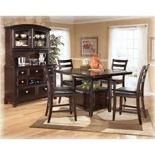 d520 32 ashley furniture square drm counter ext table