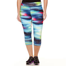 Tek Gear Plus Size Clothing Spring Preview Plus Size Capri Pants