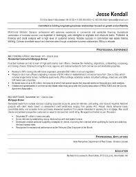 Real Estate Resumes Project Ideas Real Estate Broker Resume 12 10 Real Estate Resume