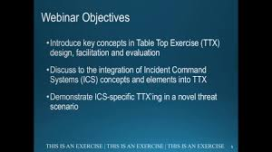 incident command table top exercises incident command system table top exercise youtube