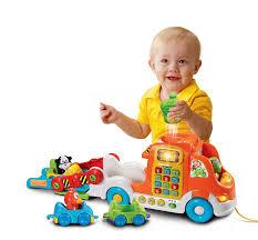 car toys black friday sale amazon com vtech pull u0026 learn car carrier frustration free