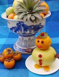how to make fruit arrangements a winter fruit arrangement that kids can make creative
