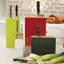 kitchen knife collection bamboo box knife holder vivaterra