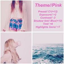 theme ideas for instagram tumblr looking for filters to use for your pink theme instagram feed on