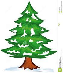 winter christmas tree clipart clipartxtras