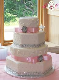 wedding cakes pink and silver tbrb info