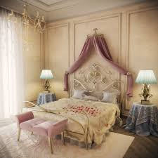 design room 3d online free with luxury golden master bed and