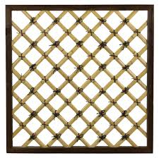 achla designs obl 25 lattice obelisk trellis walmart com