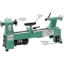 amazon com grizzly h8259 bench top wood lathe 10 inch home