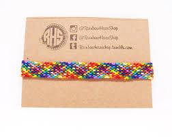 Rag Rug Friendship Bracelet Rag Rug Etsy