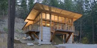 hillside cabin plans the deck hillside cottage cabin obsession
