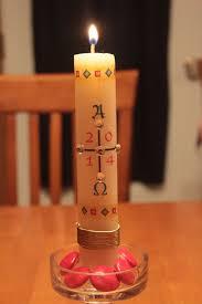 the 2014 paschal candle u2013 amanda markel