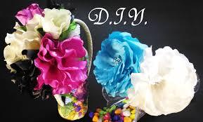 silk flower d i y silk flower headband myindulzens