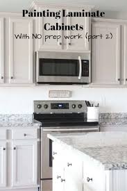 how to prep cabinets for painting painting kitchen cabinets without primer